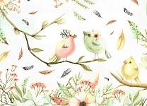 Dárková taška Nekupto - LFL - ptáčci