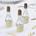 Svatební bublifuk vintage - krémovo-zlatý