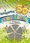 Stírací blahopřání - 50.narozeniny