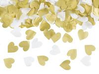 Vystřelovací konfety mini - zlaté
