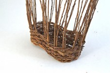Truhlík hnědé proutí nedopletený - 35 cm