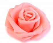 Růžička velká pěnová - pudrově růžová - 1ks