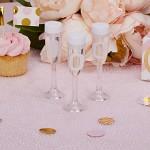 Svatební bublifuk - sklenička na stopce
