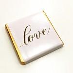 Svatební čokoládky - romantic LOVE - 20ks