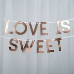 Girlanda LOVE IS SWEET - 1,5 m