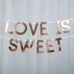 Girlanda LOVE IS SWEET - 1,5 m