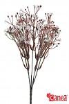 Větvička 33 cm - bílé kvítky