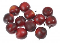 Dřevěná jablíčka - 10 ks
