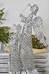 Anděl Agátka - svícen stříbrný