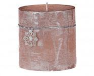 Svíčka rustikální - 6cm - krémová
