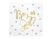 Ubrousky - kluk nebo holka
