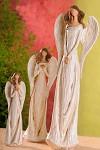 Anděl Libuše se srdcem - 21cm