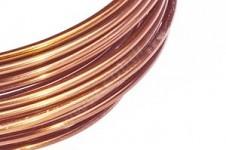 Hliníkový dekorační drátek 2 mm/5m - měděný