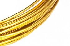 Hliníkový dekorační drátek 2 mm/5m - tyrkysový