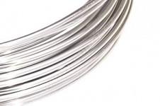 Hliníkový dekorační drátek 2 mm/5m - stříbrný