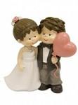 Figurka svatební s balónkem