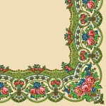 Ubrousky - folklor IV. krémové - 20ks