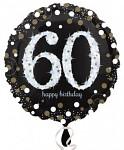 Foliový balonek - happy birthday - 60
