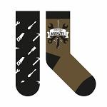 Bavlněné ponožky černé - dokonalý manžel