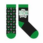 Bavlněné ponožky černé - moje ponožky pro štěstí