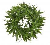 Věneček květinový z hortenzií LUX - 50 cm