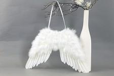 Andělská křídla 40x30 cm - bílá