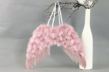 Andělská křídla 40x30 cm - starorůžová