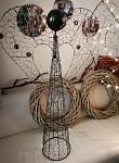 Anděl kovový velký - 100 cm