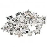 Dřevěné ozdoby - hvězdičky bílé - 12ks