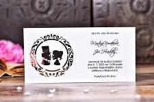 Svatební oznámení L2125
