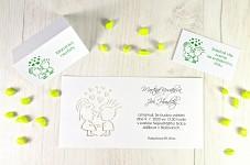 Svatební oznámení L2121
