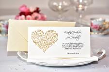 Svatební oznámení L2120