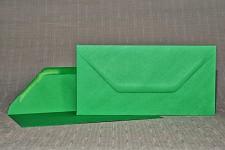 Obálka barevná DL- tm.zelená
