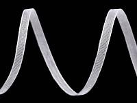 Šifonová stuha bílá - 3 mm -1m