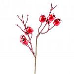 Větvička ledových bobulí - 25 cm