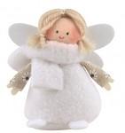 Anděl bílý se šálou