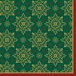 Ubrousek - Dunilin Xmas zelený - 1ks