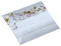 Dárková vánoční krabička - kapsička modrá