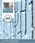 Světelný řetěz venkovní - rampouchy - bílé světlo - 180 LED - 6m