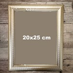 Zlatý fotorámeček - 20 x 25 cm