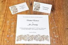 Svatební oznámení L2169