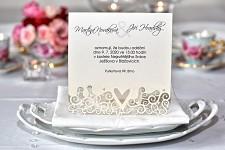 Svatební oznámení L2103