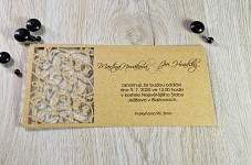 Svatební oznámení L2109