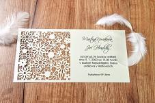 Svatební oznámení L2111