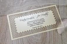 Svatební oznámení L2114