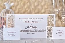 Svatební oznámení L2171