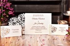 Svatební oznámení L2178