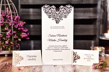 Svatební oznámení L2179
