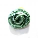 Hlavička mini ranunculus - modrozelený - 1ks