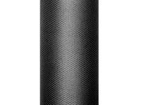 Tyl dekorační - černý 15cm - 9m